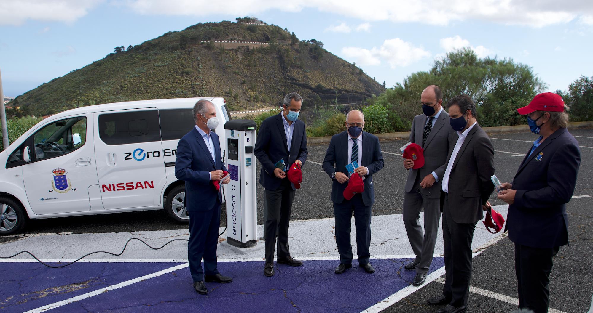 NP Endesa X y Nissan conectan al RCGLP con la movilidad eléctrica